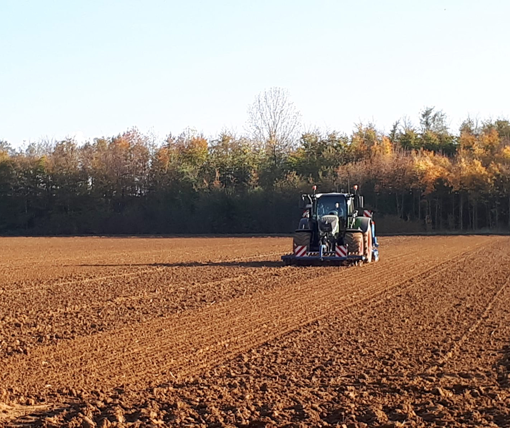 Bremer Agrar Lohnunternehmen – Drillen – Aussaat