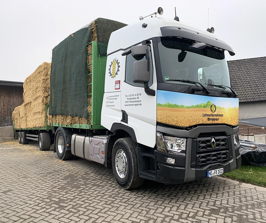 Bremer Agrar Lohnunternehmen – Transport